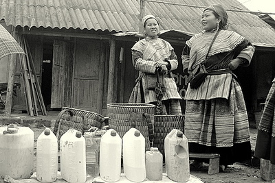 Ladies and corn wine in the North Vietnam