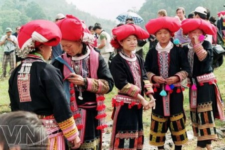 Timid Dao people in festival - From: vnplus.vn
