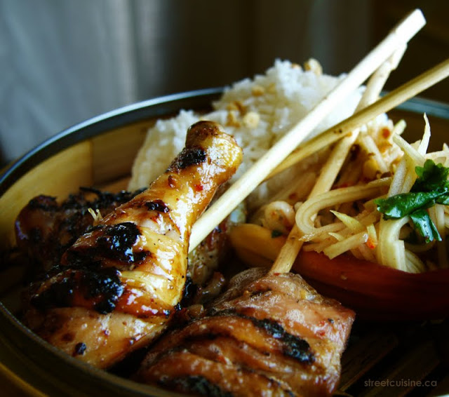 Grilled Chicken laos