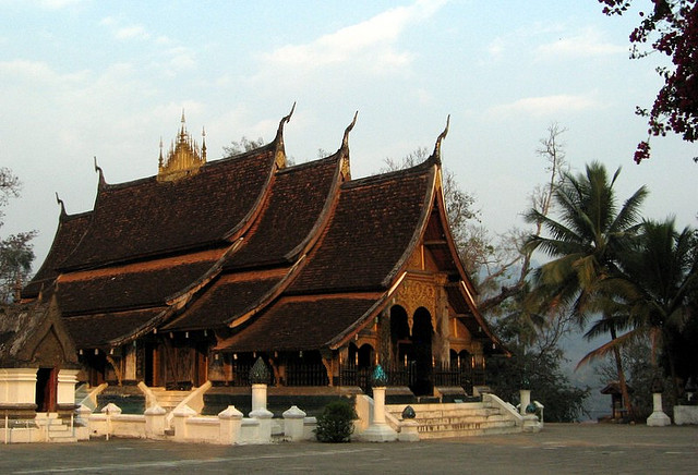 Tourist Attractions in Laos Wat Xieng Thong