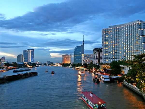 overnight in Bangkok