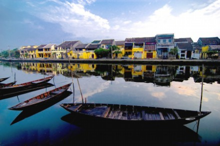 A picturesque corner of Hoi An City