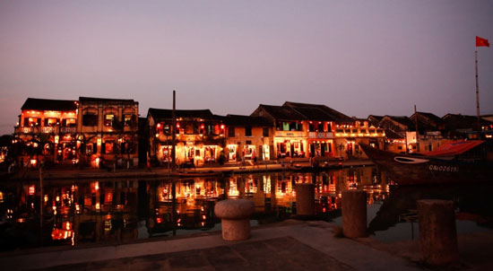 Hoi An Ancient Town in the sparkling light