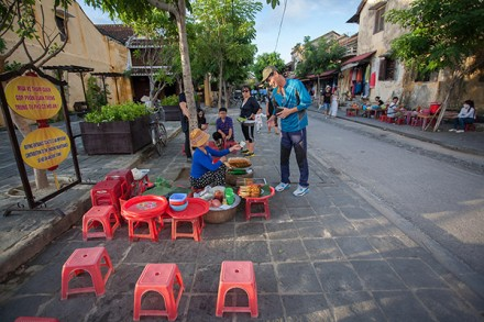 Street food in Hoian