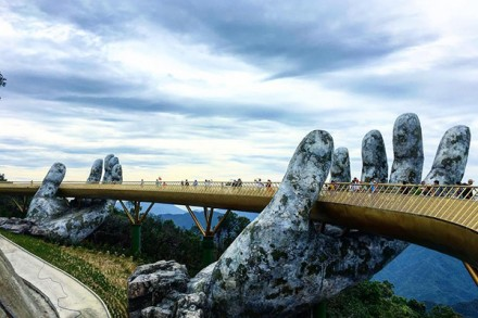 golden bridge ba na hills da nang