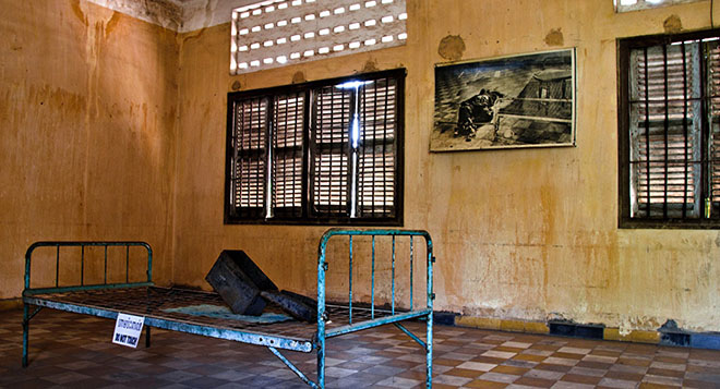 tuol-sleng-campuchia Khmer Rouge history