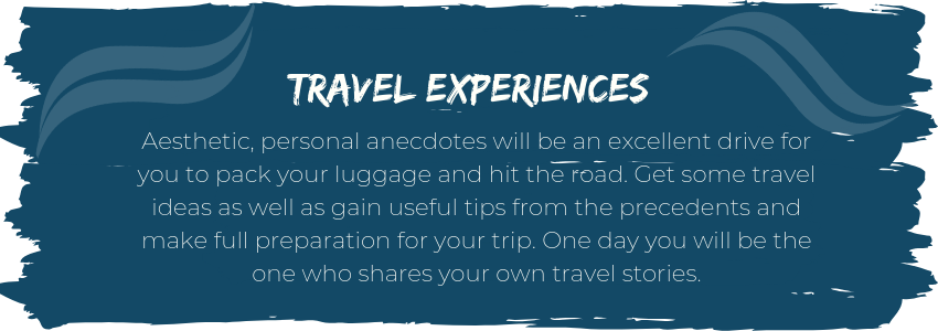 Travel experiences
