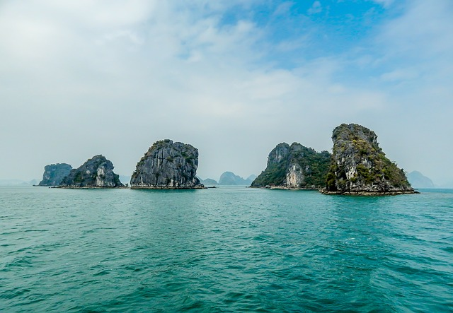 Halong Vietnam travel from USA