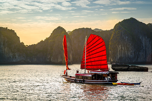 travel vietnam from the UK halong