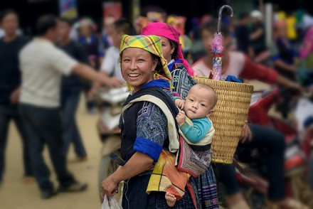 Northern mountain Vietnam ethnic